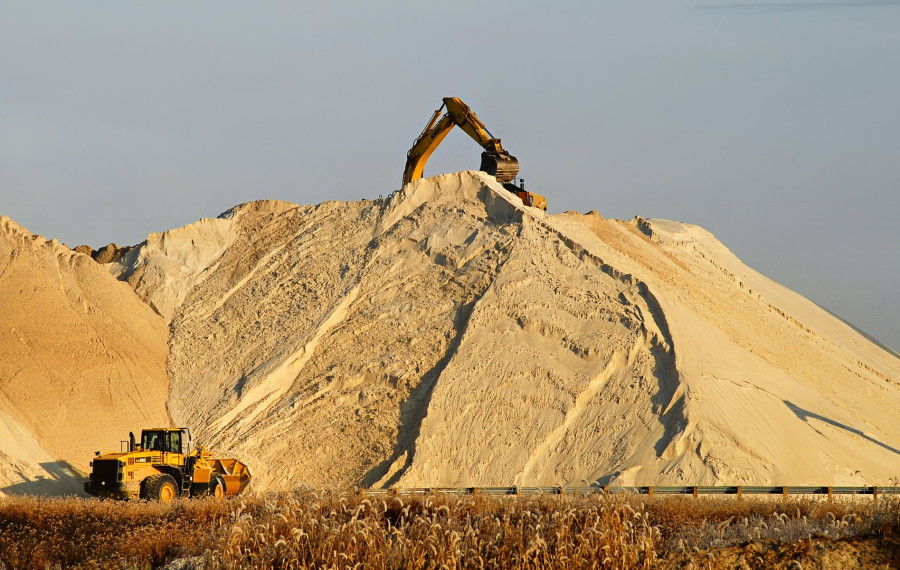 Hi-Crush Partners has an existing sand-mining operation in Wyeville, which serves as its Wisconsin headquarters.  Credit: H9-Crush Partners LP